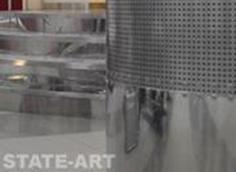 Перфорированная обшивка цилиндрическая