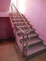 Лестница из нержавеющей стали №1