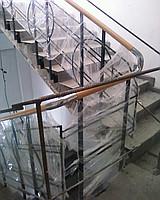 Лестница из нержавеющей стали №6
