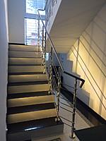 Лестница из нержавеющей стали №7