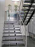 Лестница из нержавеющей стали №10