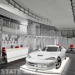 архитектурное решение автосалон Аларм