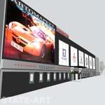 проект рекламного решения фасада