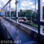 ограждения парапета на летней площадке 3-й этаж