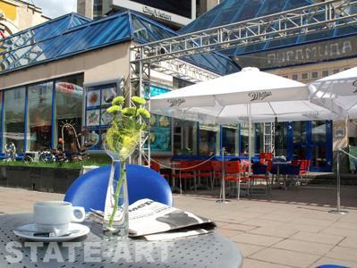 Летнее кафе бар Пирамида, ул.Тверская