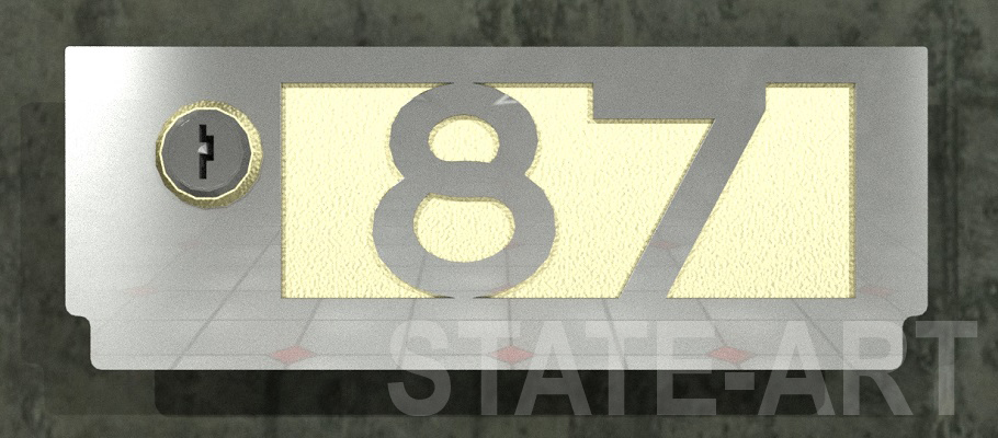вариант U-012 фасадная дверка