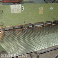 Фото рубка металла на ножницах