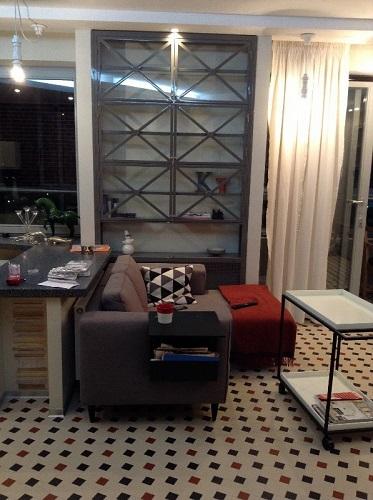 Шкаф встроенный в стиле LOFT