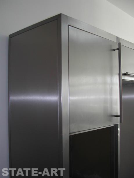 Кухонный шкаф для кухни под встраиваемое оборудование