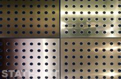 Перфорированный металлический лист