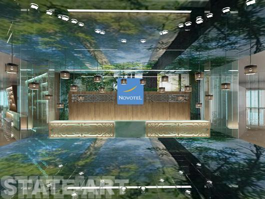 дизайн проектхолл отеля