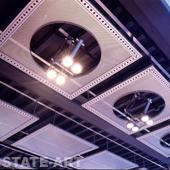 стальные нетиповые потолочные изделия