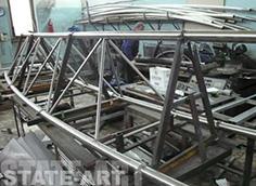 каркасы из нержавеющей стали