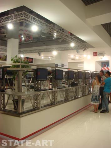 Торговое оборудование для  торгового центра