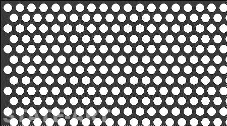 Металлический перфорированный лист Тип  Rv 5-6