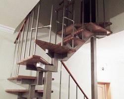 металлическая лестница 004
