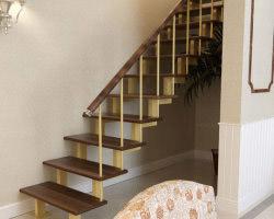 металлическая лестница 008