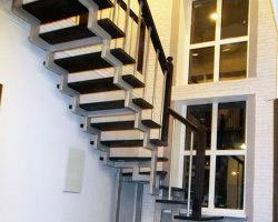 металлическая лестница 009