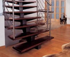 металлическая лестница 019