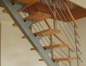 металлическая лестница 025