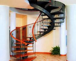 металлическая лестница 027