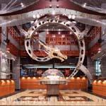 декоративный элемент Дракон в главном зале
