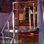 лесенка на площадку диджея в клубе Сахар