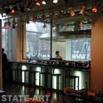 баоная стойка с видом на рабочую зону суши