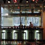 барная стойка 1-го этажа на входе