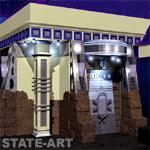 дизайн проект главного входа с улицы
