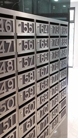 Производство секционных блоков для корреспонденции.