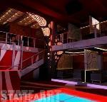 вид на ограждения лестницы и балкона