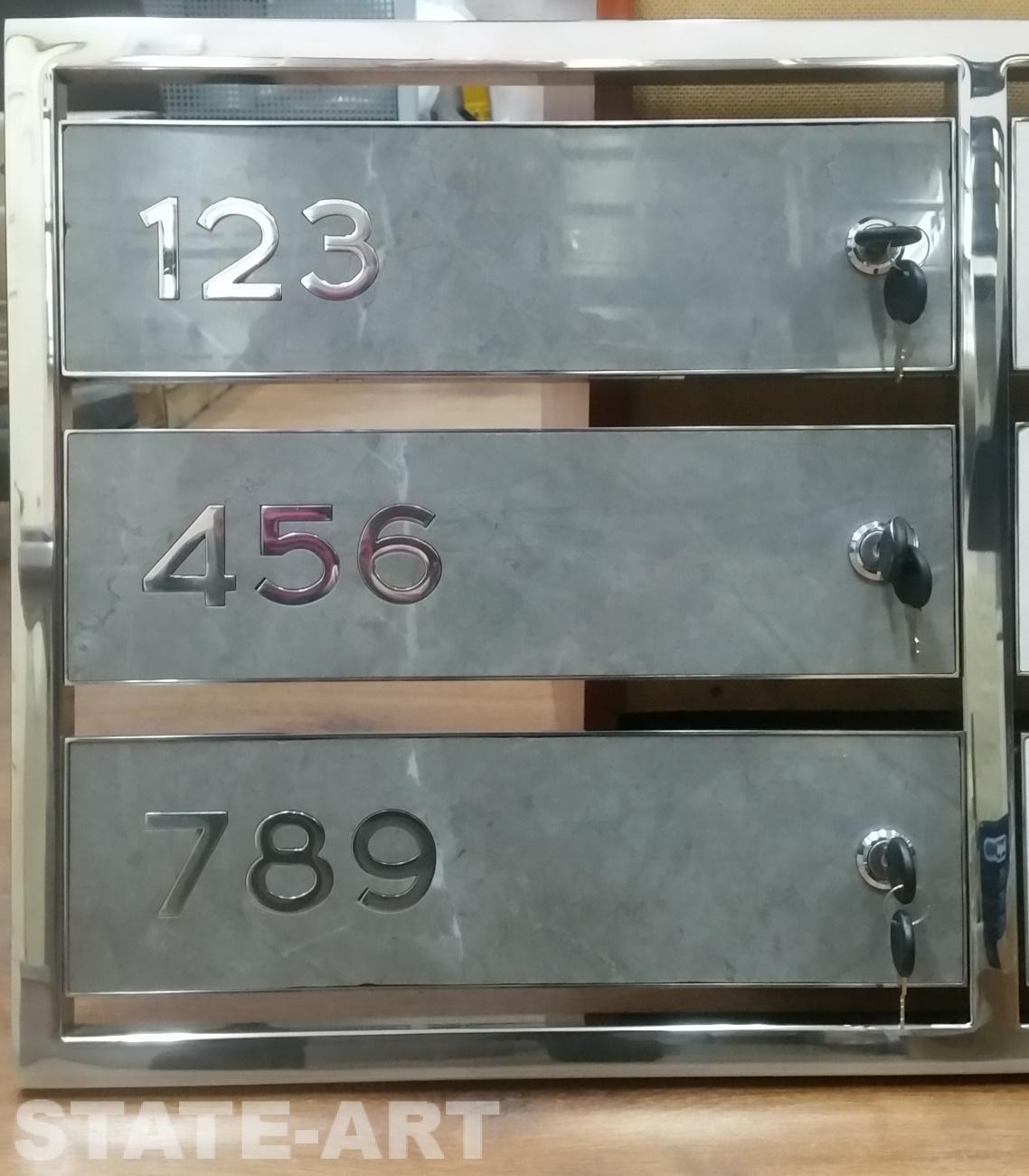 Образец дверки с фасадом из керамогранита