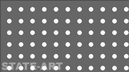 Металлический перфорированный лист Тип Rv 5-8