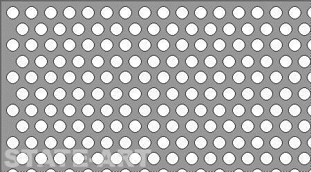 Купить алюминиевый перфорированный лист Rv 3-5