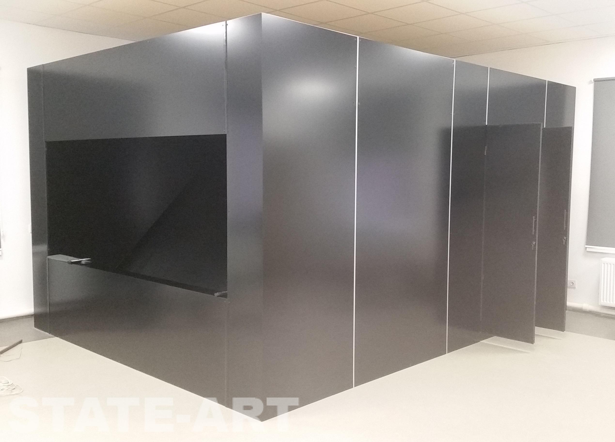 фотография павильона Musion с открытыми дверями